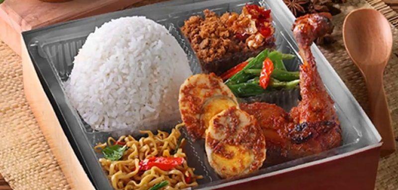 Paket Nasi Kotak Ayam Bakar, Menu Catering Harian Surabaya